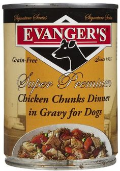 EVANGER'S, Slow Cooked Chicken Stew for Dogs, 12 pack, 12-Ounce Cans