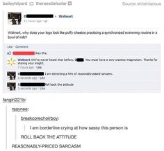 Nothing like a good ol' online clapback.