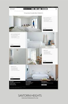 F- Design Website for Santorini Heights at www. Site Design, Web Design, Search Engine Optimization, Santorini, Seo, Website, Design Websites, Website Designs