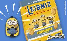 Bananaaa. Die #Minions sind los. Zusammen mit #Leibniz verlosen wir 4 Trolleys! Wie du teilnimmst? Kaufe eine leckere Packung Leibniz Kekse
