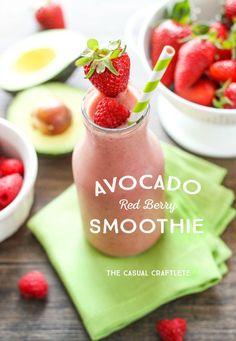Raspberry Banana Avocado Smoothie Recipe Avocado Smoothie