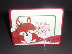 Mingle All the Way Stampin up Christmas Punch art.