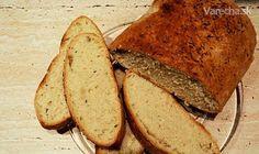 Chrumkavý domáci chlieb bez kysnutia - Recept Banana Bread, Food And Drink, Desserts, Basket, Tailgate Desserts, Deserts, Postres, Dessert, Plated Desserts