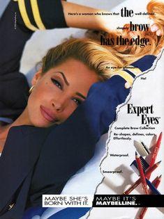 Maybelline 1993Model: Christy Turlington