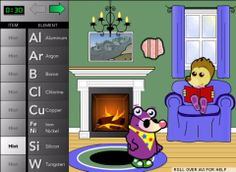 Science Learning Games for Elementary School Students via American Chemical Society gr.4-6