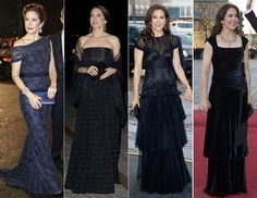 Crown Princess Mary tops the most stylish list yet again. Crown Princess Mary of Denmark has been voted Most Stylish Young Royal in a po. Princess Marie Of Denmark, Princess Victoria Of Sweden, Crown Princess Victoria, Crown Princess Mary, Princess Style, Princess Fashion, Grecian Gown, Gala Gowns, Printed Gowns