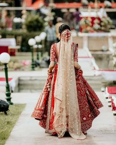 The dupatta diaries 💕 From single to double these brides have shown us how can a dupatta give an edge to the whole outfit! Swipe right and… Indian Bridal Lehenga, Indian Bridal Fashion, Pakistani Bridal Dresses, Indian Wedding Outfits, Indian Outfits, Dress Wedding, Dress Indian Style, Indian Dresses, Bridal Lehenga Collection