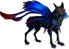 Blue on Black by Tatchit.deviantart.com on @deviantART