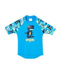 Speedo - Speedo Mavi Erkek Çocuk Mayo Ess Stsv Sunt İm Blu/Oran