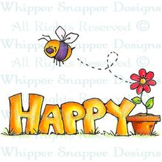 Bee Happy Bold