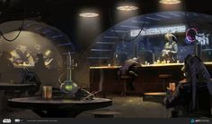 "ArtStation - ILM art department challenge ""The Job"", Pavel Goloviy"