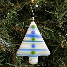 Hey, I found this really awesome Etsy listing at https://www.etsy.com/listing/200055559/fused-glass-christmas-tree-ornament