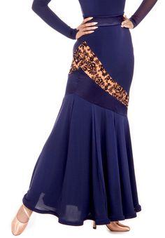 DSI Fara Ballroom Skirt 3439 | Dancesport Fashion @ DanceShopper.com