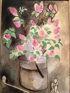 Lilacs - Henri Matisse, 1914