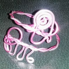 May 2nd: Aluminum wire bracelet