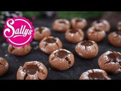 Mokka Kugeln mit Zartbitterkern / sehr zart & mürbe / kahveli kurabiye - Sallys Blog