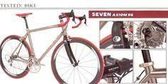 Seven Cycles | Press Archive | Axiom SG
