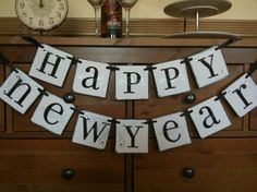 banner New Years Eve, Happy New Year, Bunting, Garland, Banner, Garlands, Happy New Years Eve, Banners, Flower Crowns