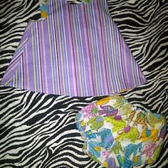 Pinafore Top and Bloomers at the Shopping Mall, $25.00