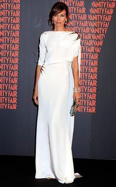 Personaje del año Vanity Fair: Nieves Alvarez de Juanjo Oliva Beautiful Dresses, Nice Dresses, Casual Dresses, Fashion Dresses, Formal Dresses, Look Fashion, Fashion Design, Special Dresses, Elegant Outfit