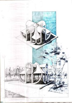 Architecture drawing and sketches vladbucur.ro Architecture drawing and sketches vladbucur. Interior Design Sketches, Industrial Design Sketch, Sketch Design, Architecture Sketchbook, Concept Architecture, Architecture Design, Architecture Diagrams, Building Sketch, Illustration