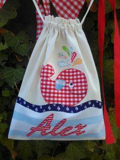 Bolsa desayuno personalizada por Guirigall xiquets