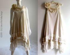 Cottage chic Bohemian Dress.