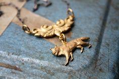 Big Bad Wolf Woodland Necklace #necklaces