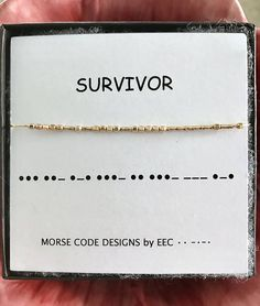 Morse Code Games For Kids Code Messages Learn Key: 1602152976 Survivor Necklace, Morse Code Words, Morse Code Tattoo, Sister In Law Gifts, Morse Code Bracelet, Best Friend Jewelry, Youre My Person, Kids Jewelry, Jewelry Making