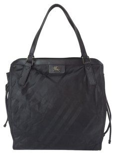 03ce3adbdf07 Burberry Packable Tote in black nylon