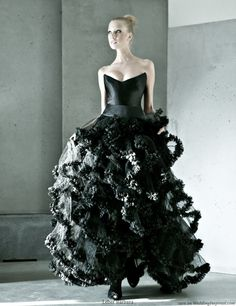 Black Wedding Dresses for the Non Traditional Brides   Wedding to be