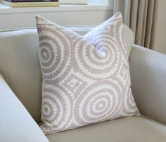 20 Designers Guild Corales Pillow Cover in Lilac by PinkandPiper