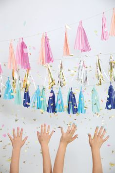 Pretty Perfect Tassels by MeriMeri look stylish at any event www.theoriginalpartybagcompany.co.uk