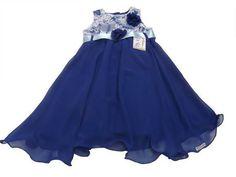 Vestido Azul Royal 285012