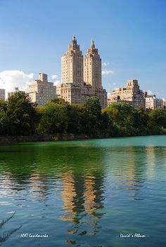 Central Park Lake , NYC