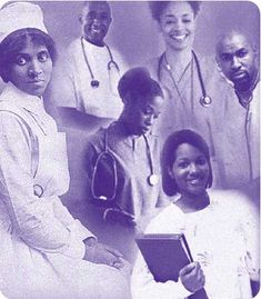 """Like midwifery, nursing runs deep in the history of African Americans!  These professions where practiced long before """"they"""" began forcing formal education and licensure."""