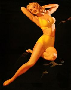 Earl Moran, Marilyn Monroe pin-up