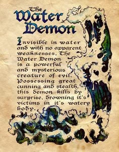Charmed BoS The Water Demon.I loved watching charmed. Please check out my website Thanks.  www.photopix.co.nz