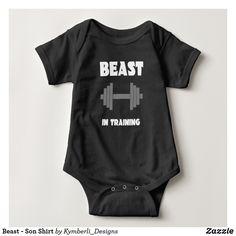 Beast - Son Shirt #kymberlidesigns