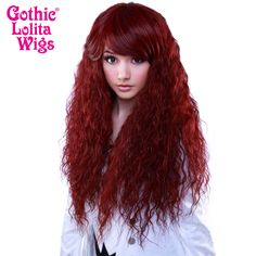 Gothic Lolita Wigs® <br> Rhapsody™ Collection - Burgundy -00102