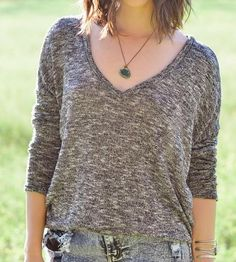 Heather Pullover Sweater by The Reverie on Scoutmob Shoppe