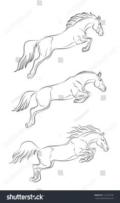 The most important role of equestrian clothing is for security Although horses can be trained they can be unforeseeable when provoked. Riders are susceptible while riding and handling horses, espec… Horse Drawings, Animal Drawings, Art Drawings, Drawing Tips, Line Drawing, Horse Sketch, Horse Anatomy, Horse Shirt, Horse Jewelry
