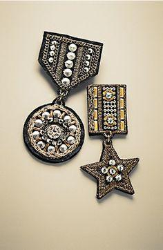 Cara 'Military Star' Pin | Nordstrom
