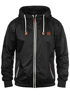 52553ce555 BLEND 20700040ME Men's Windbreaker Coat Jacket Windbreaker,  Size:S;Colour:Black (70155). Amazon.co.uk. Best Fashion
