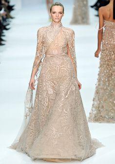Défilé Elie Saab haute couture printemps-été 2012