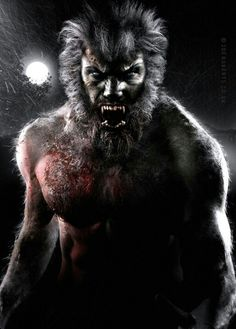 Werewolf.  He's not happy.
