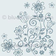 Hand-Drawn Sketchy Notebook Doodle Vector Illustration by blue67design, via Flickr