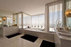 bathroom  @ luxury villa  in Cascade de Camojan, Golden Mile, Marbella, Spain.
