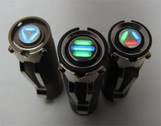 tritium light - excellent for finding your light when it is dark.