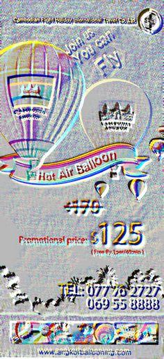 Angkor Hot Air Balloon Flights & Services